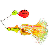 Спиннербейт DAM Effzett Pike Rattlin' Spinnerbait 17см 43гр (Fluo Yellow Orange)