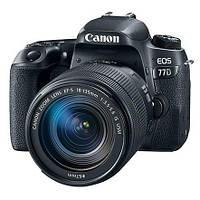 Зеркальный фотоаппарат Canon EOS 77D kit (18-135mm) nano USM