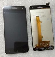 Оригинальный дисплей (модуль) + тачскрин (сенсор) для Gigabyte GSmart Guru G1 (черный цвет)