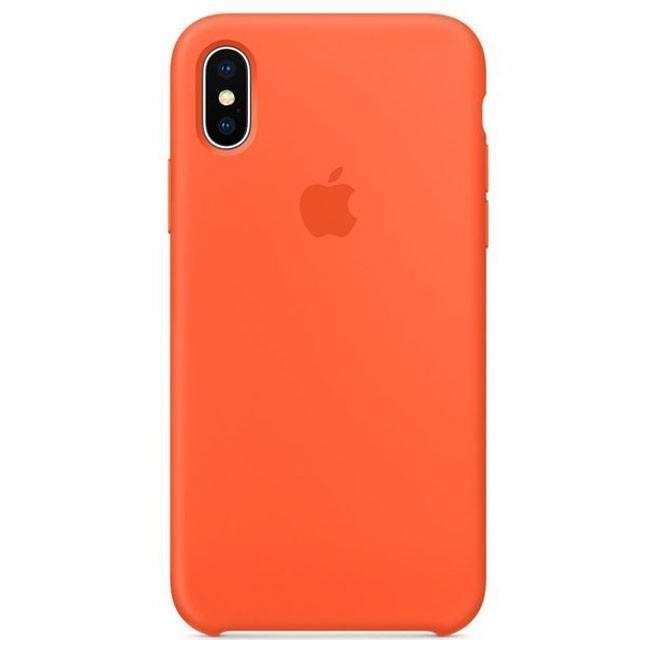 "Накладка iPhone Х ""Original Case"" Orange"