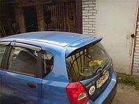Спойлер на крышу Chevrolet Aveo T200 Hatchback, Шевроле Авео Хэтчбек Т200, фото 1