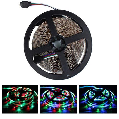 5м стрічка світлодіодна, 300x 3528 SMD LED, RGB