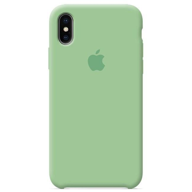 "Накладка iPhone Х ""Original Case"" Green"