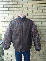 Куртка демисезонная, бомбер больших размеров унисекс NN