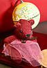 Оригинальный Сувенир Вязанный Мишка Брелок Мишка, фото 4