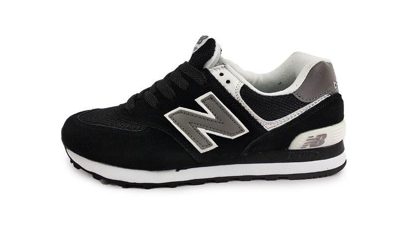 26e11b57 Кроссовки New Balance 574 Black/Grey/White — в Категории