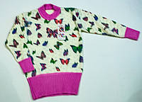 Вязаный свитерок для девочки на 9 лет , фото 1