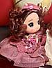 Оригинальный Сувенир Кукла Коллекционная В Платье Со Стразами Брелок Кукла, фото 4
