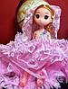 Оригинальный Сувенир Кукла Лол В Свадебном Платье Брелок Кукла, фото 5