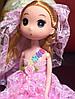 Оригинальный Сувенир Кукла Лол В Свадебном Платье Брелок Кукла, фото 6