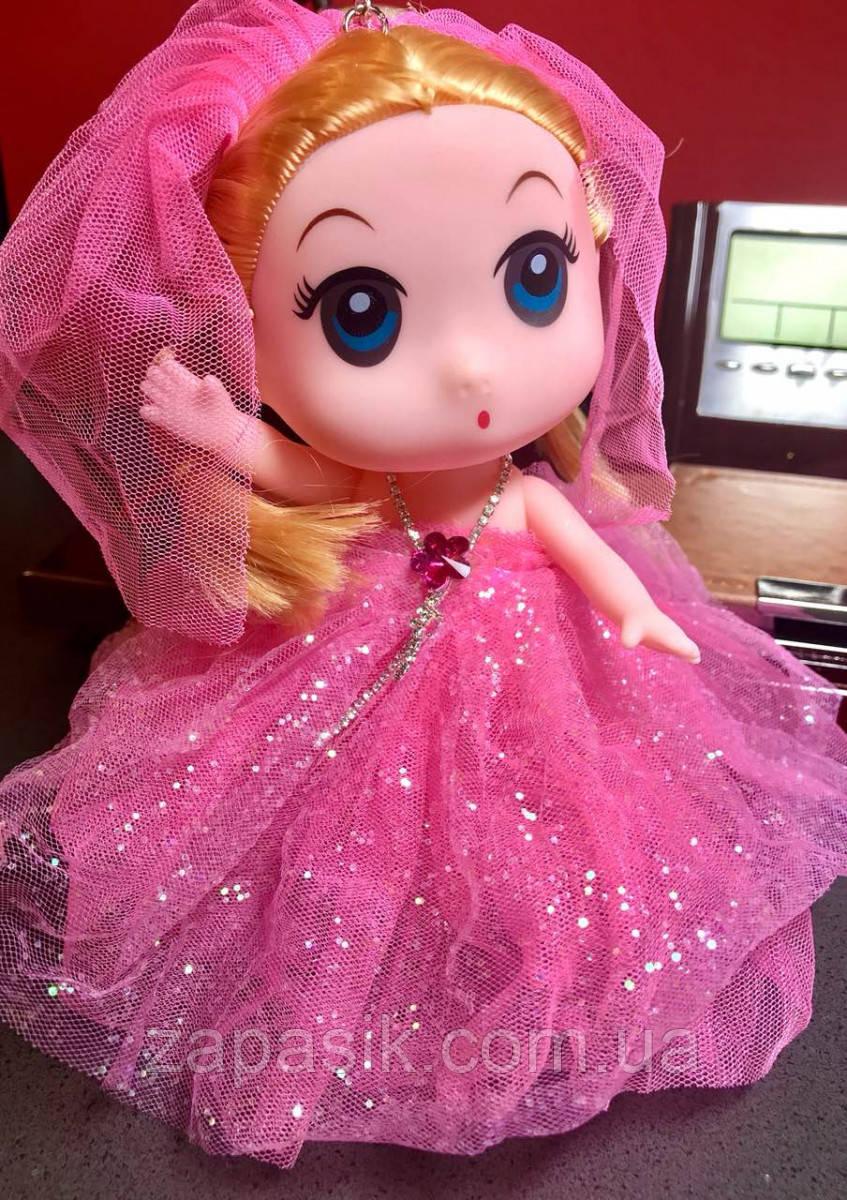 Оригинальный Сувенир Кукла Невеста Лол В Платье и Ожерелье Брелок Кукла