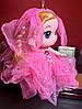 Оригинальный Сувенир Кукла Невеста Лол В Платье и Ожерелье Брелок Кукла, фото 3