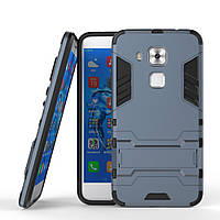 Чехол Huawei Nova Plus / G9 Plus Hybrid Armored Case темно-синий