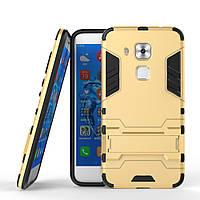 Чехол Huawei Nova Plus / G9 Plus Hybrid Armored Case золотой