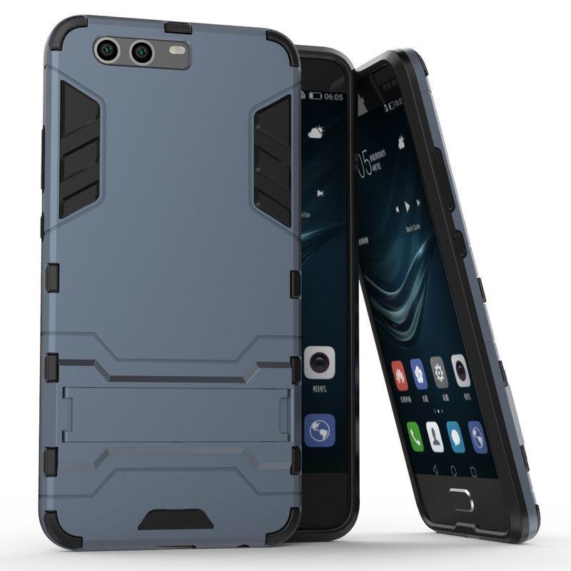 Чехол Huawei P10 Plus Hybrid Armored Case темно-синий