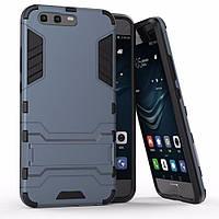 Чехол Huawei P10 / VTR-L09 / VTR-L29 Hybrid Armored Case темно-синий
