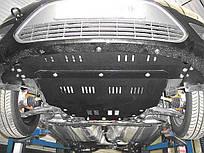 Защита двигателя и КПП на Пежо 107 (Peugeot 107) 2005-2014 г (металлическая/увеличенная)