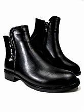 Демисезонные  ботинки из натуральной кожи