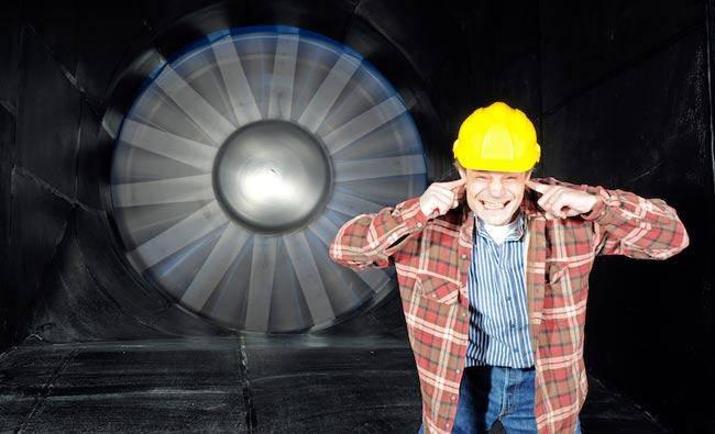Производственный шум и средства защиты органов слуха