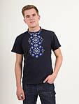 Мужская вышиванка материал трикотаж-лакоста, фото 3