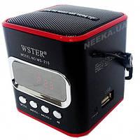 Радиоприемник колонка WSTER WS-215, фото 1