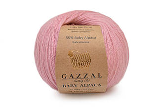 Gazzal Baby Alpaca, Розовый №46007