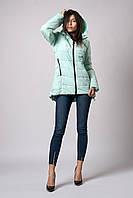 Женская молодежная демисезонная куртка. Код К-103-37-18. Цвет мята.
