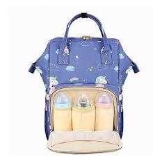 Сумка-рюкзак с термокарманами для заботливых мам.