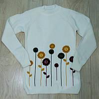 В'язаний светр для дівчинки на 10-14 років, фото 1