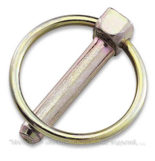 Шплинт с кольцом 6 мм