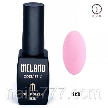 Гель-лак Milano 8 мл, № 166, фото 2
