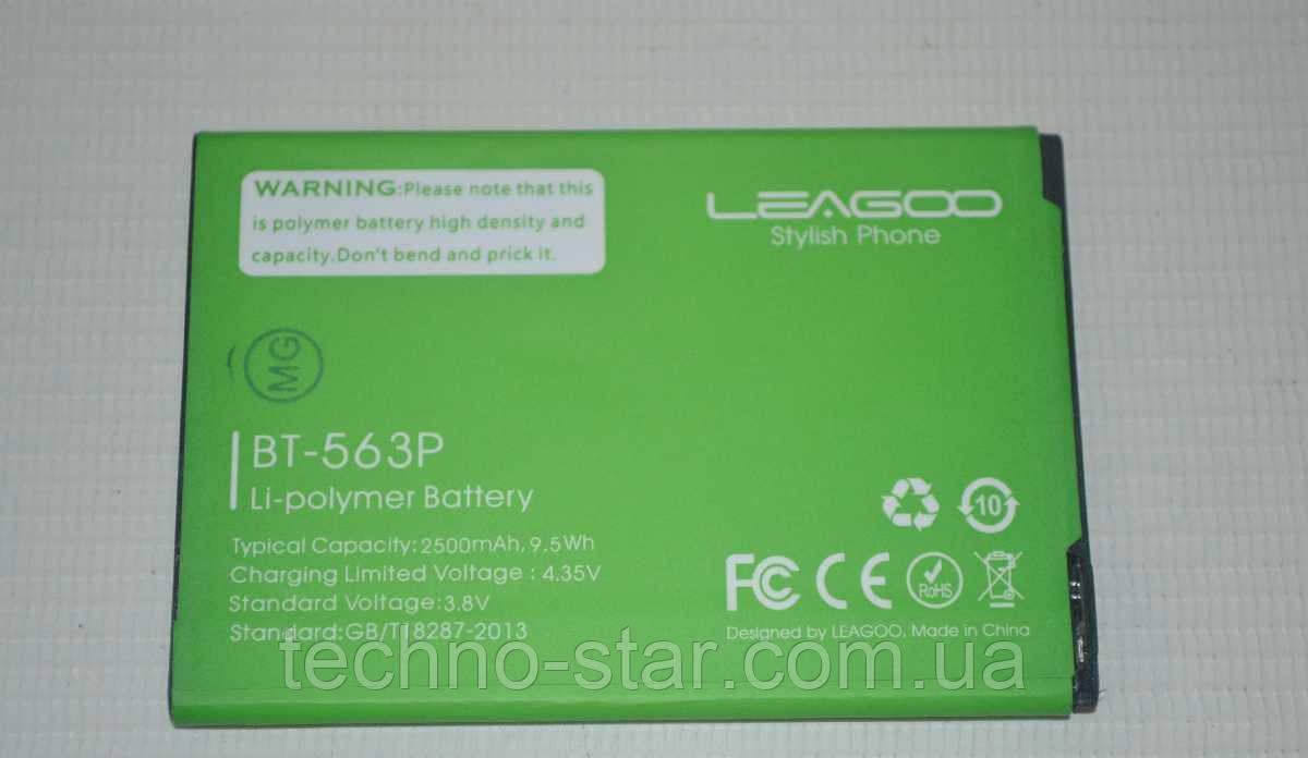 Оригинальный аккумулятор (АКБ, батарея) BT-563P для Leagoo M5 Plus 2500mAh