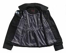 Женская драповая укороченная куртка YOKI США размер RU52, фото 3