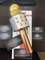 Микрофон караоке WS-858, фото 1