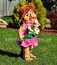 Садовая фигура Милашка большая, фото 3