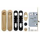 Набор для раздвижных дверей Armadillo SH011-BK GP-2 Золото, фото 3