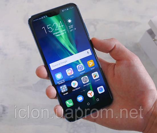 "Оригинал Huawei Honor 10 5.84"" Kirin 970* 4/6Gb RAM+64/128Gb ROM*+Чехол+Бронь Стекло"
