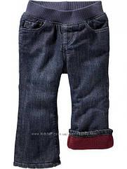 Утепленные джинсы на флисе бордо  (Размер 5Т) Old Navy (США)