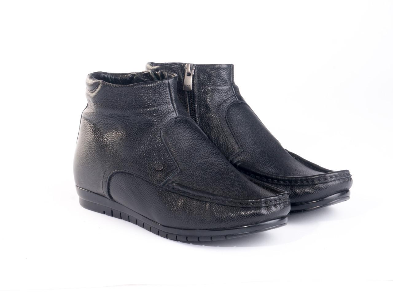 Ботинки Etor 12215-8731  42 черные