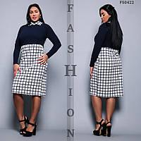 Платье женское большие размеры с 50 по 56 р. Г03813, фото 1
