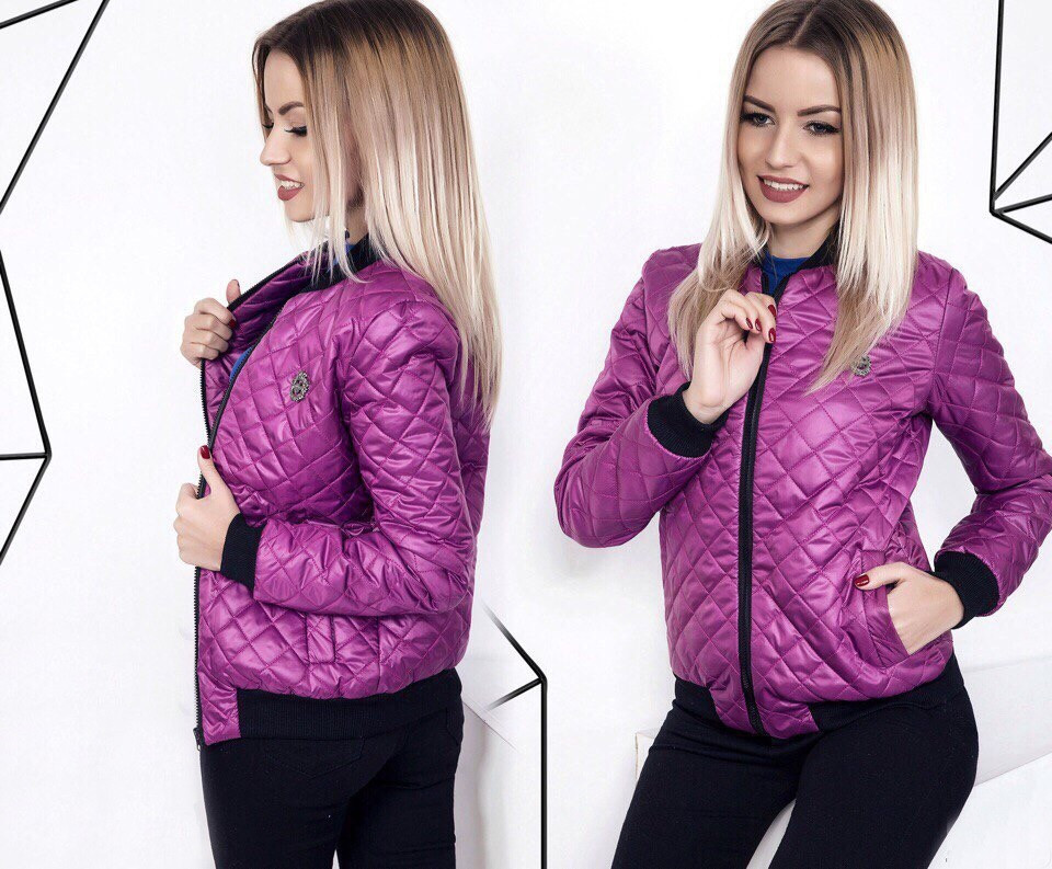 325fd5e1169 Стильная женская короткая курточка осень   весна на синтепоне 100 ...