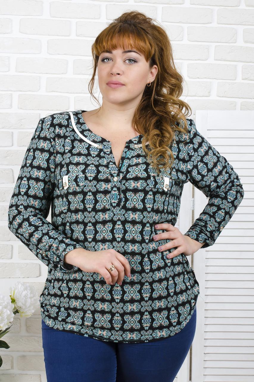f91d5d26670 Женская блуза из трикотажа