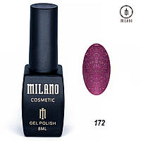 Гель-лак Milano 8 мл, № 172