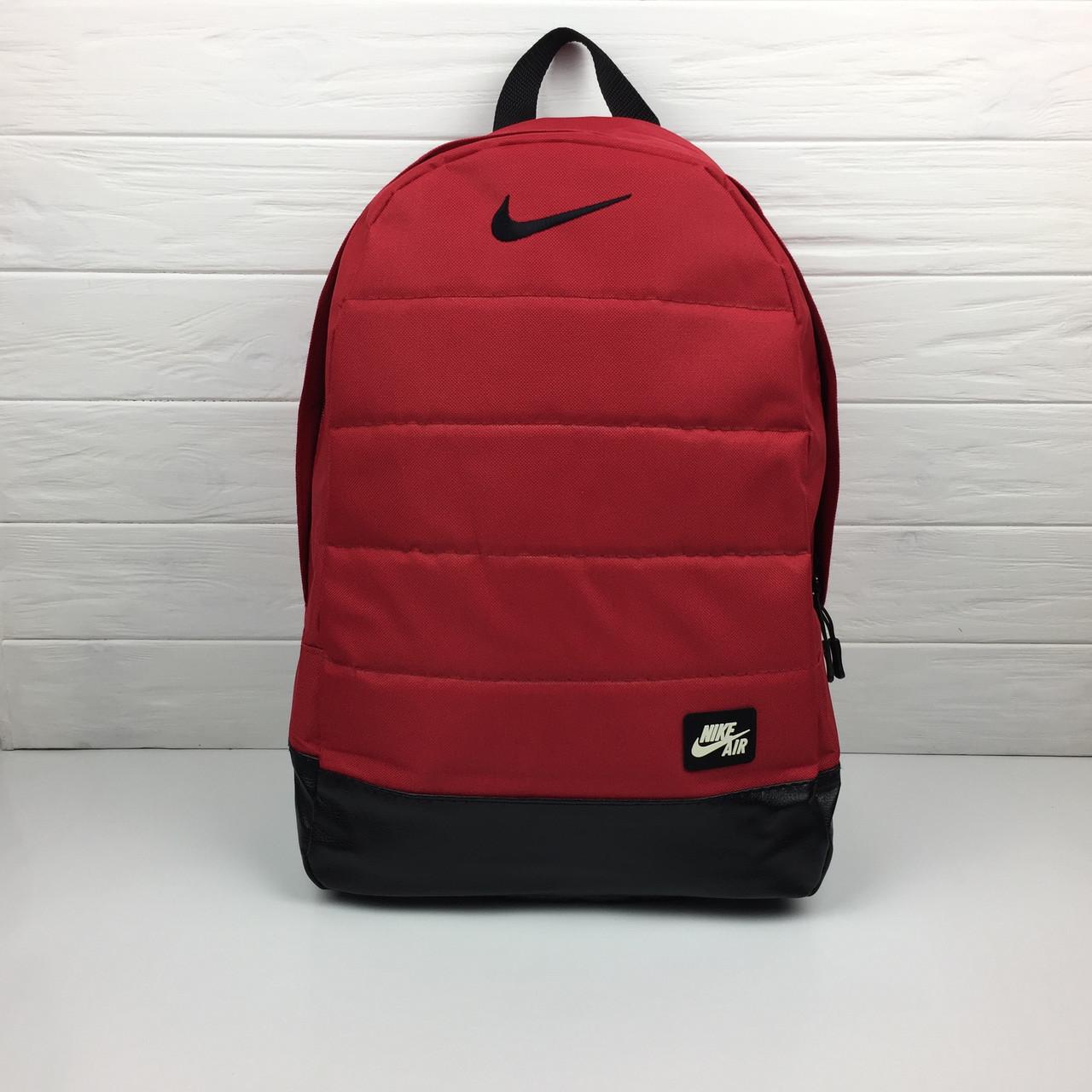 Спортивный Рюкзак- Nike Air (красный)-реплика