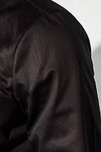 Рубашка мужская офисного стиля 3220-3 (Черный), фото 3