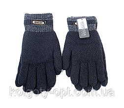 Перчатки мужские двойные с искусственным мехом (продаются только от 12 пар)