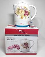 Чайник керамический электрический Octavo OC-1326A, фото 1