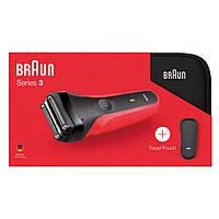 Электробритва Braun Series 3 300ts Red+чехол Оригинал, фото 1