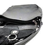 Сумка шоппер женская Laura Biaggi (29-151) кожаная черная, фото 5