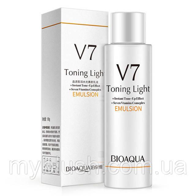 Омолаживающая эмульсия «BIOAQUA» V7 Toning Light